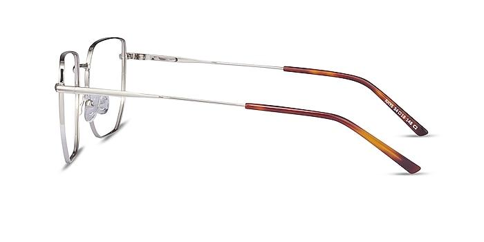 Rhys Silver Metal Eyeglass Frames from EyeBuyDirect