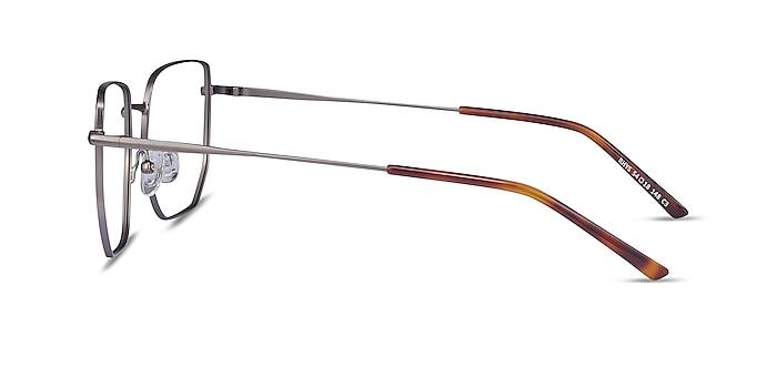 Rhys Gunmetal Metal Eyeglass Frames from EyeBuyDirect