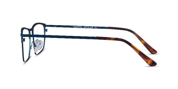 Harrison Bleu marine  Métal Montures de lunettes de vue d'EyeBuyDirect