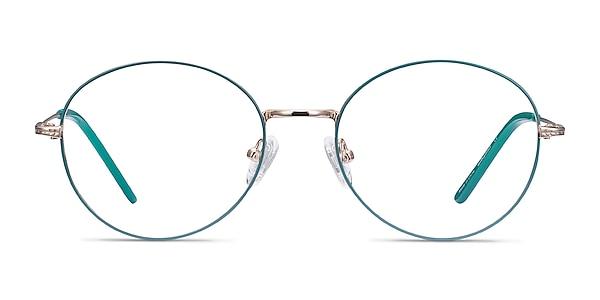 Arbus Green & Gold Métal Montures de lunettes de vue