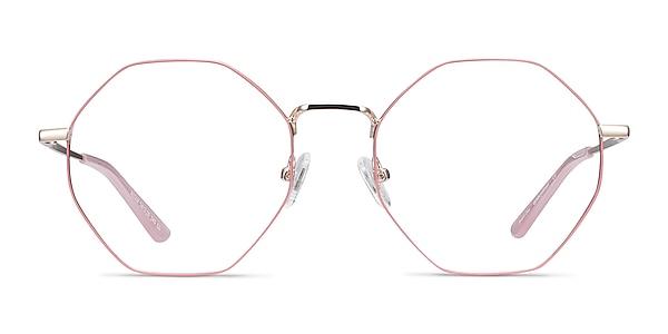 Altar Pink & Gold Metal Eyeglass Frames