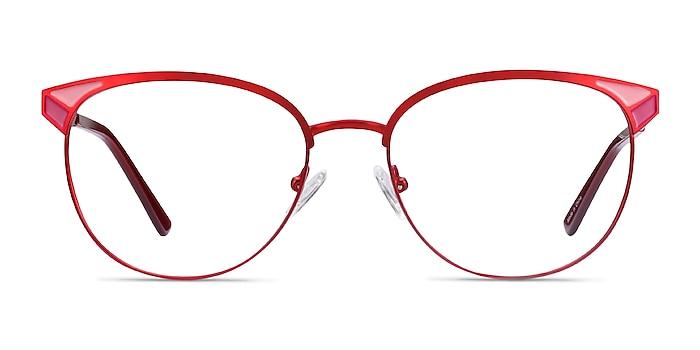 Niki Rouge Métal Montures de lunettes de vue d'EyeBuyDirect