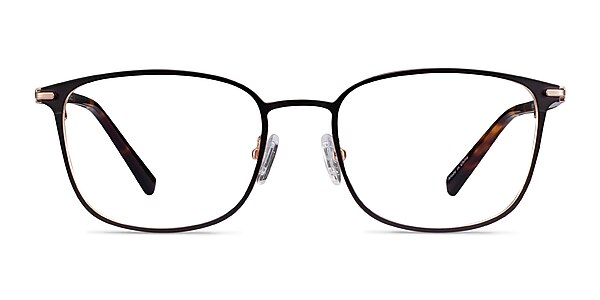 River Black Rose Gold Acetate-metal Eyeglass Frames
