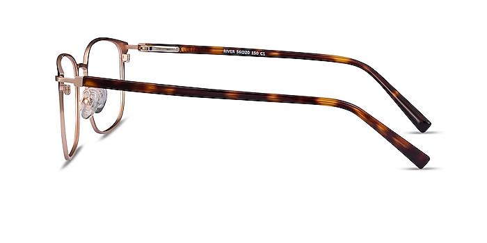 River Black Rose Gold Acetate-metal Eyeglass Frames from EyeBuyDirect