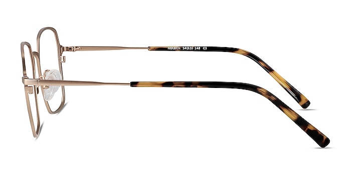 Holden Gold Metal Eyeglass Frames from EyeBuyDirect