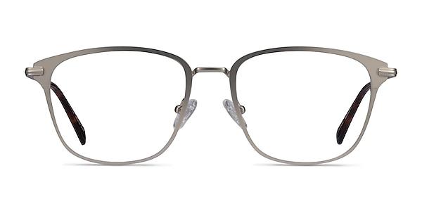 Karter Silver Metal Eyeglass Frames