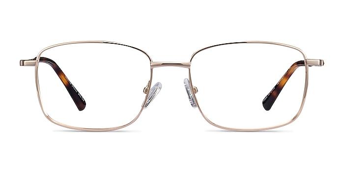 Costin Doré Métal Montures de lunettes de vue d'EyeBuyDirect