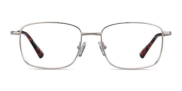 Costin Silver Metal Eyeglass Frames