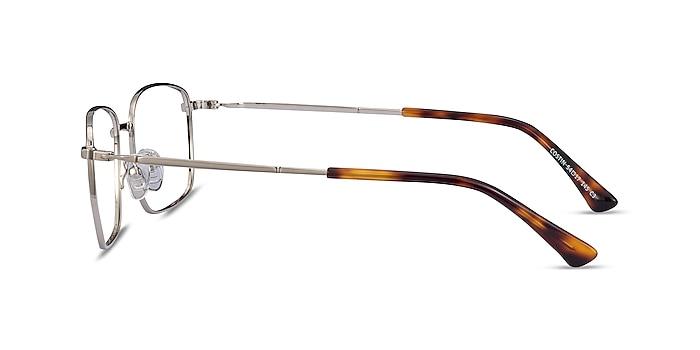 Costin Silver Metal Eyeglass Frames from EyeBuyDirect