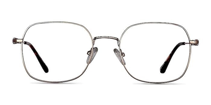 Index Gold Tortoise Metal Eyeglass Frames from EyeBuyDirect