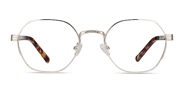 Fantasy Gold Acetate-metal Eyeglass Frames