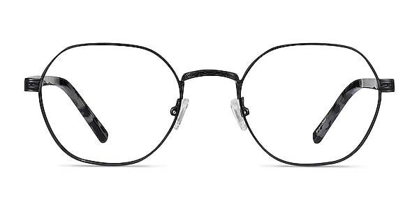 Fantasy Black Acetate-metal Eyeglass Frames