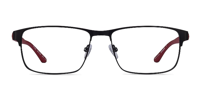 Special Black Red Carbon-fiber Montures de lunettes de vue d'EyeBuyDirect