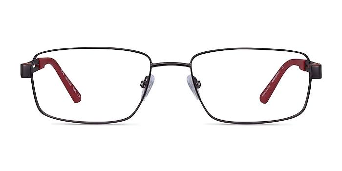 Bob Gunmetal Red Carbon-fiber Montures de lunettes de vue d'EyeBuyDirect