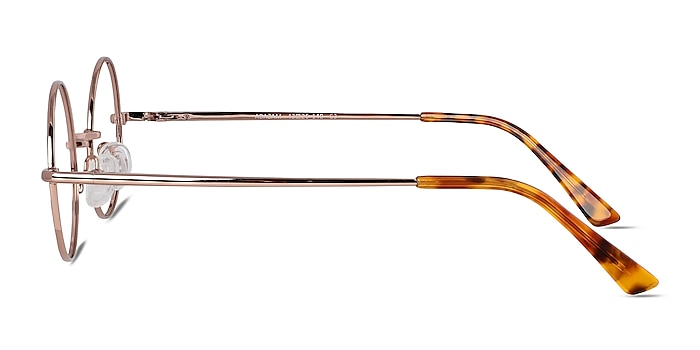 Abazam Rose Gold Metal Eyeglass Frames from EyeBuyDirect