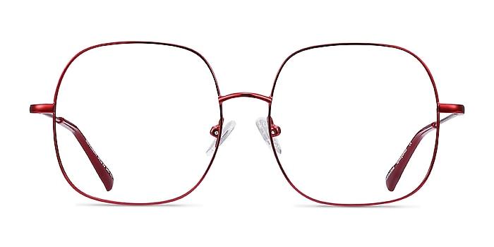 Movement Red Metal Eyeglass Frames from EyeBuyDirect