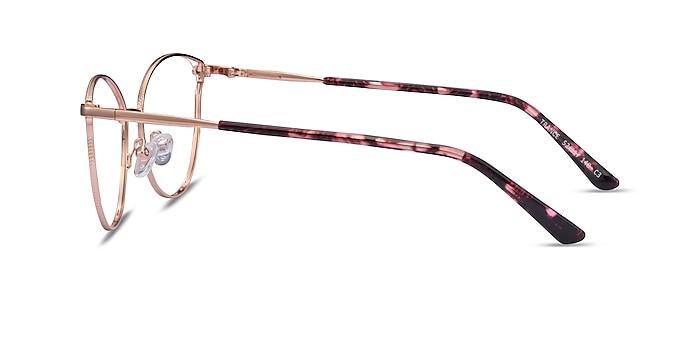 Trance Rose Gold Metal Eyeglass Frames from EyeBuyDirect