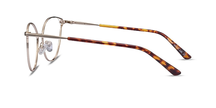 Trance Light Gold Métal Montures de lunettes de vue d'EyeBuyDirect