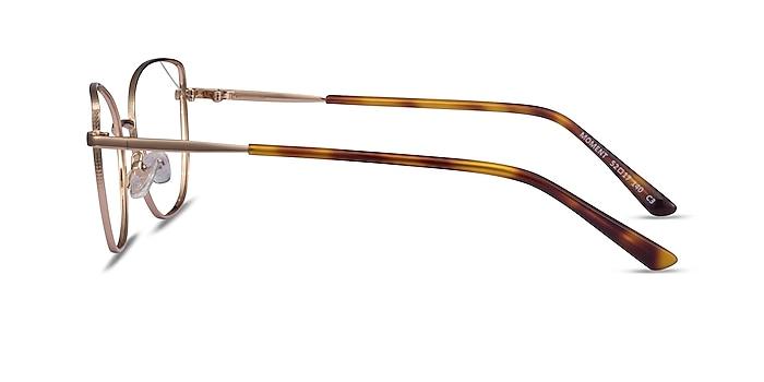 Moment Rose Gold Metal Eyeglass Frames from EyeBuyDirect