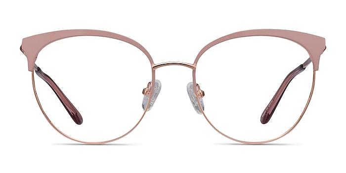 Gem Pink Rose Gold Metal Eyeglass Frames from EyeBuyDirect