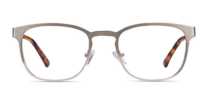 Bellamy Light Gold Metal Eyeglass Frames from EyeBuyDirect