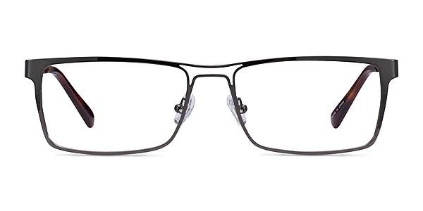 Biloxi Dark Gunmetal Métal Montures de lunettes de vue