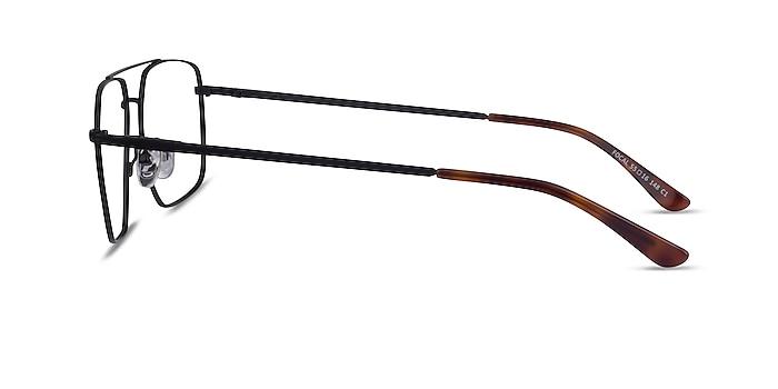 Focal Noir Métal Montures de lunettes de vue d'EyeBuyDirect