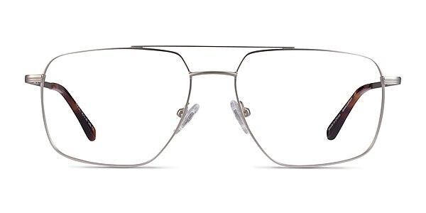 Focal Argenté Métal Montures de lunettes de vue
