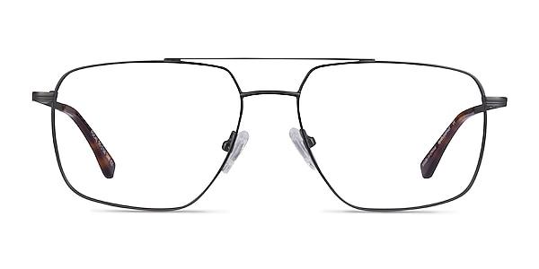 Focal Gunmetal Metal Eyeglass Frames