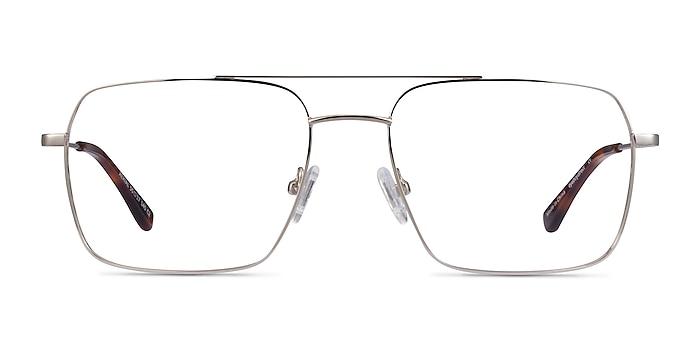 Aerial Argenté Métal Montures de lunettes de vue d'EyeBuyDirect