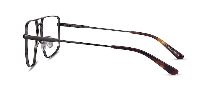 Orson Dark Gunmetal Métal Montures de lunettes de vue d'EyeBuyDirect
