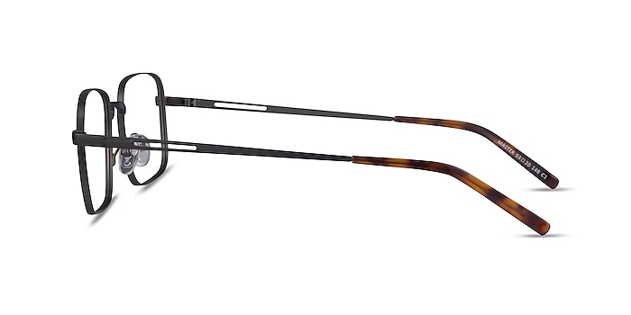Master Gunmetal Métal Montures de lunettes de vue d'EyeBuyDirect