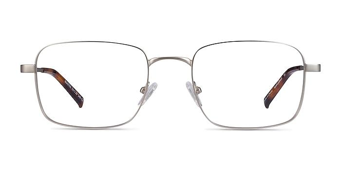 Master Argenté Métal Montures de lunettes de vue d'EyeBuyDirect