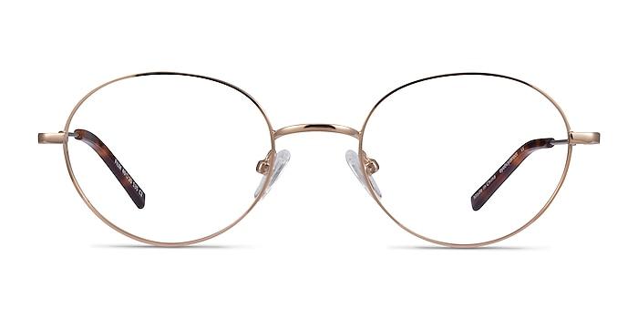 Film Rose Gold Metal Eyeglass Frames from EyeBuyDirect
