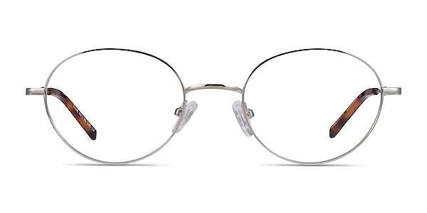 Film Silver Metal Eyeglass Frames