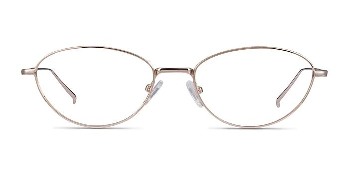 Feather Doré Métal Montures de lunettes de vue d'EyeBuyDirect