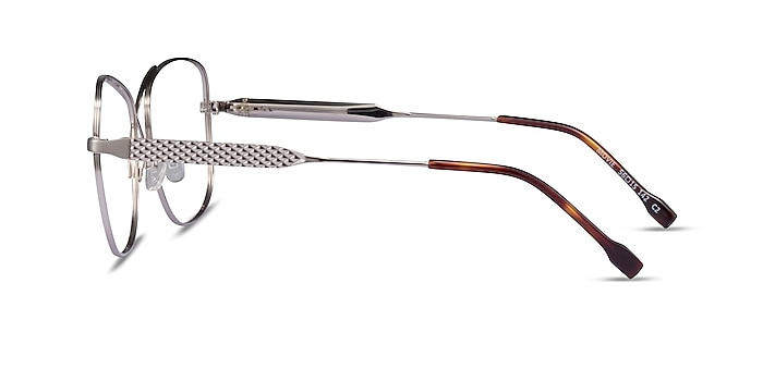 Movie Silver Metal Eyeglass Frames from EyeBuyDirect