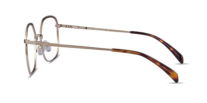 Chai Light Gold Metal Eyeglass Frames from EyeBuyDirect