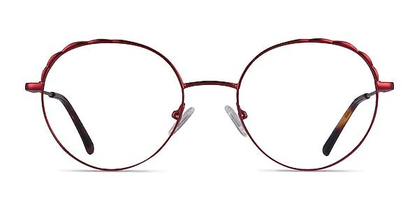 Cloud Burgundy Metal Eyeglass Frames
