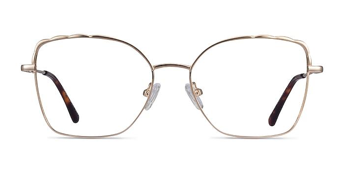 Rapture Doré Métal Montures de lunettes de vue d'EyeBuyDirect