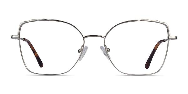 Rapture Silver Metal Eyeglass Frames