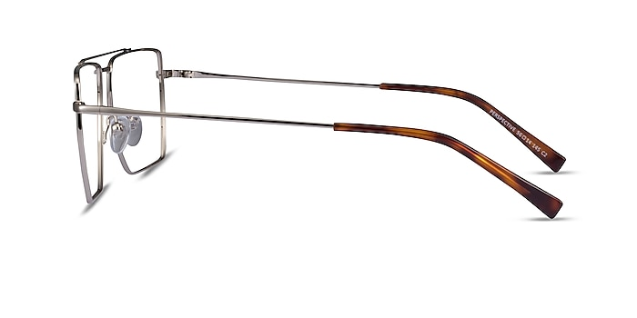 Perspective Silver Metal Eyeglass Frames from EyeBuyDirect