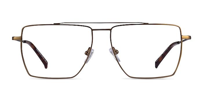 Perspective Bronze Metal Eyeglass Frames from EyeBuyDirect