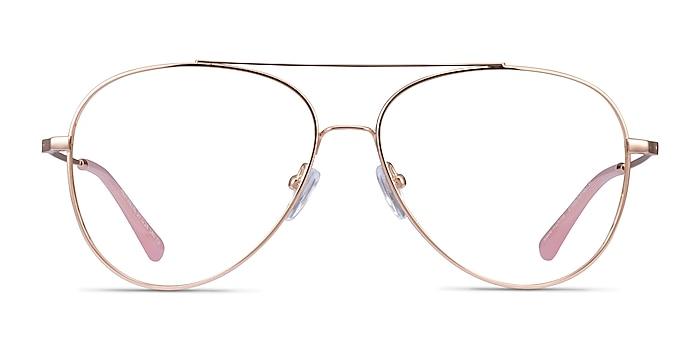 Aesthetic Rose Gold Métal Montures de lunettes de vue d'EyeBuyDirect
