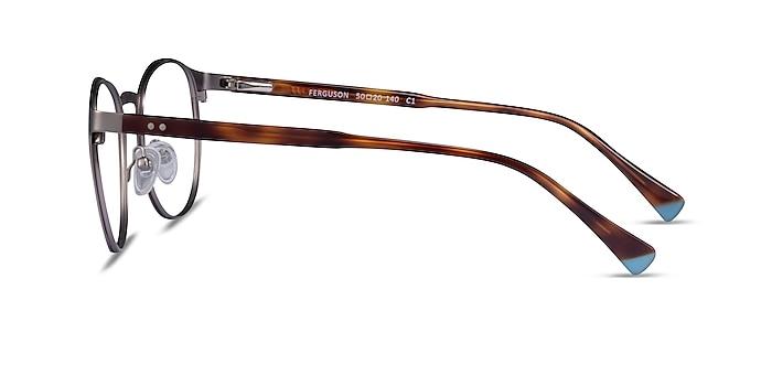 Ferguson Gunmetal Tortoise Acetate Eyeglass Frames from EyeBuyDirect