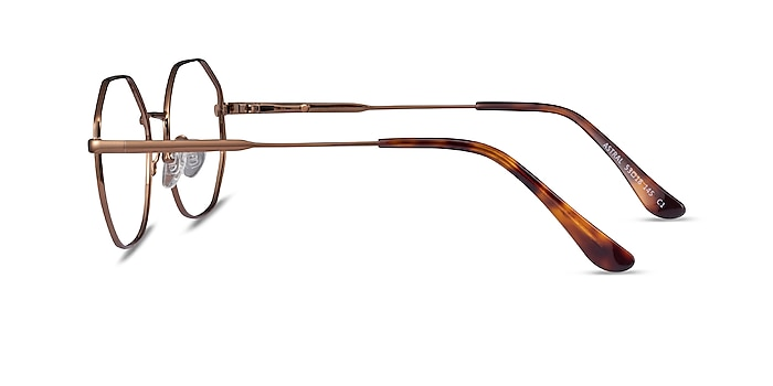Astral Bronze Metal Eyeglass Frames from EyeBuyDirect
