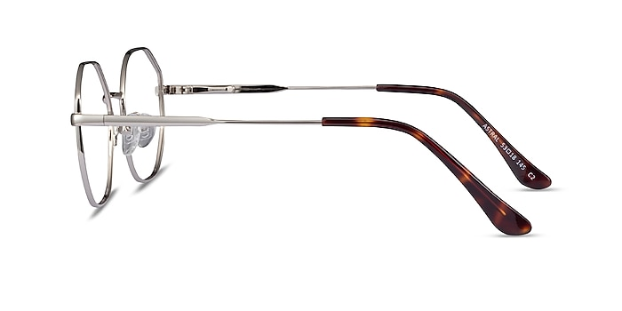 Astral Silver Metal Eyeglass Frames from EyeBuyDirect