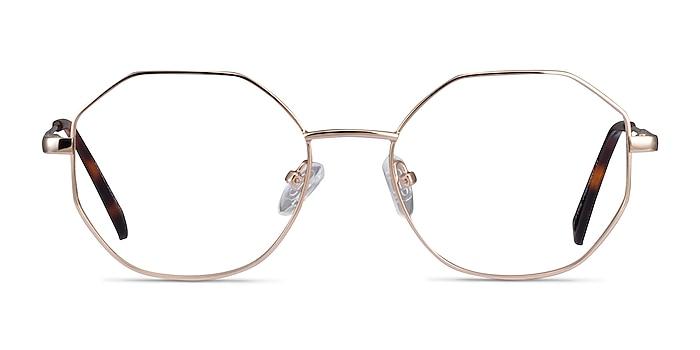 Astral Gold Metal Eyeglass Frames from EyeBuyDirect