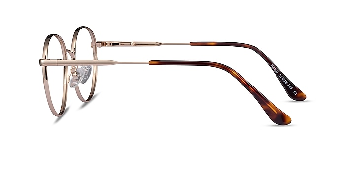 Haiku Gold Metal Eyeglass Frames from EyeBuyDirect