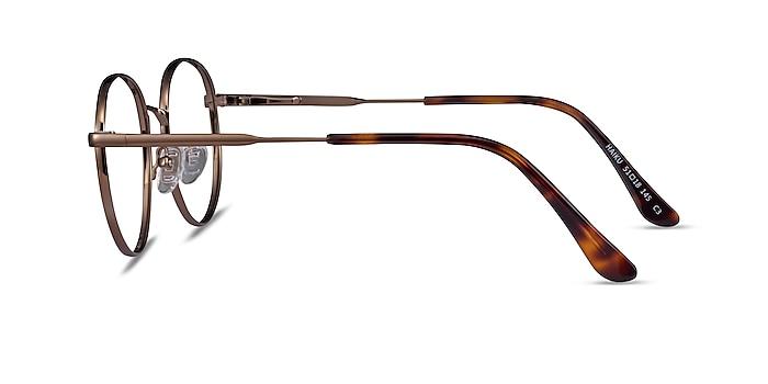 Haiku Bronze Metal Eyeglass Frames from EyeBuyDirect